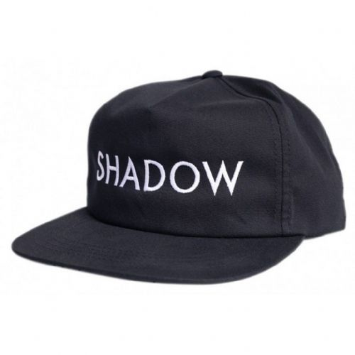 Shadow VVS Snapback Cap - Black